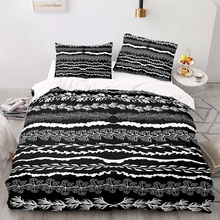 Cartoon Style 200×200 Duvet Cover Set With Pillowcase, 220×230 Quilt Cover,  Grass pattern in water  King Size Bedding