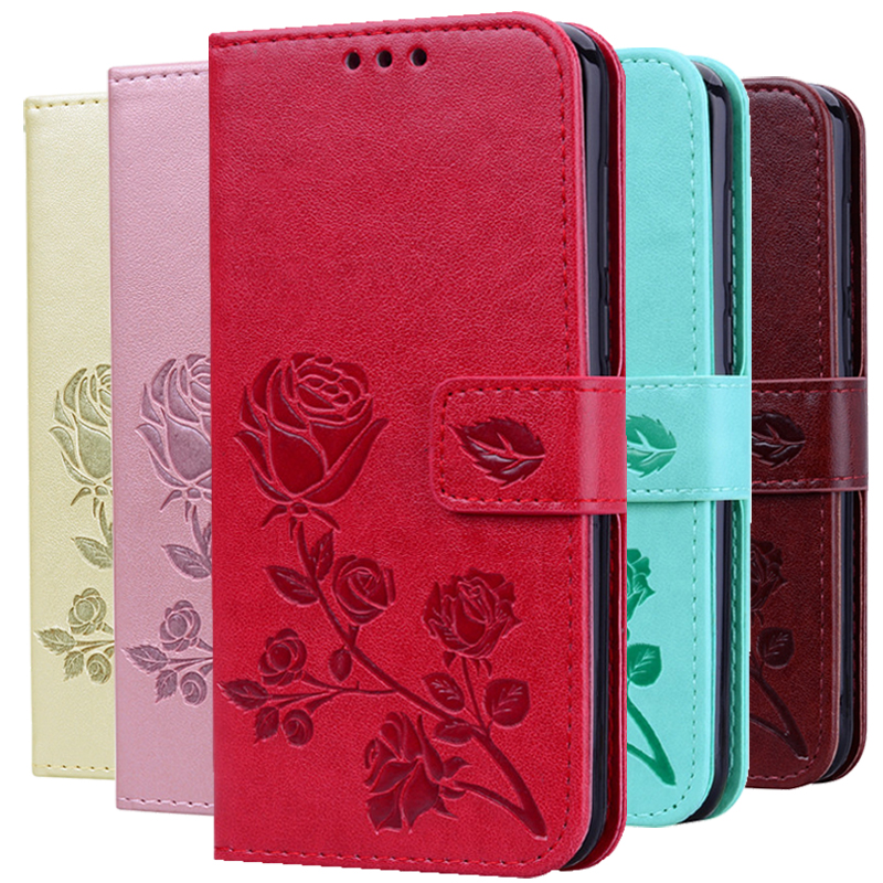 Rose Flower <font><b>Leather</b></font> <font><b>Case</b></font> For <font><b>Samsung</b></font> Galaxy S8 S9 Plus <font><b>S7</b></font> S6 Edge S5 S3 S4 J3 J5 J7 A3 A5 J1 2016 2017 J2 Grand Prime <font><b>Flip</b></font> Cover image