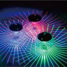 2020 новый открытый плавучий подводный мяч лампа солнечная питание цвет пеленание плавание бассейн вечеринка ночь свет для двор пруд сад