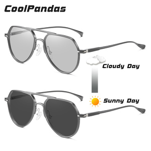 Image 3 - Gafas de sol fotocromáticas Unisex, lentes de sol polarizadas con visión nocturna de día, camaleón, para conducir, para hombre y mujer