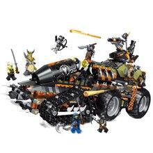 Совместим с Legoinglys 70654, детские блоки, нинджагоед, драконы, воины, строительные наборы, Детские модели, развивающие игрушки