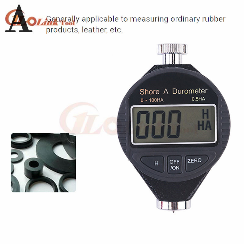 NEW DIGITAL Shore A Rubber Hardness Tester Guage Durometer NIB