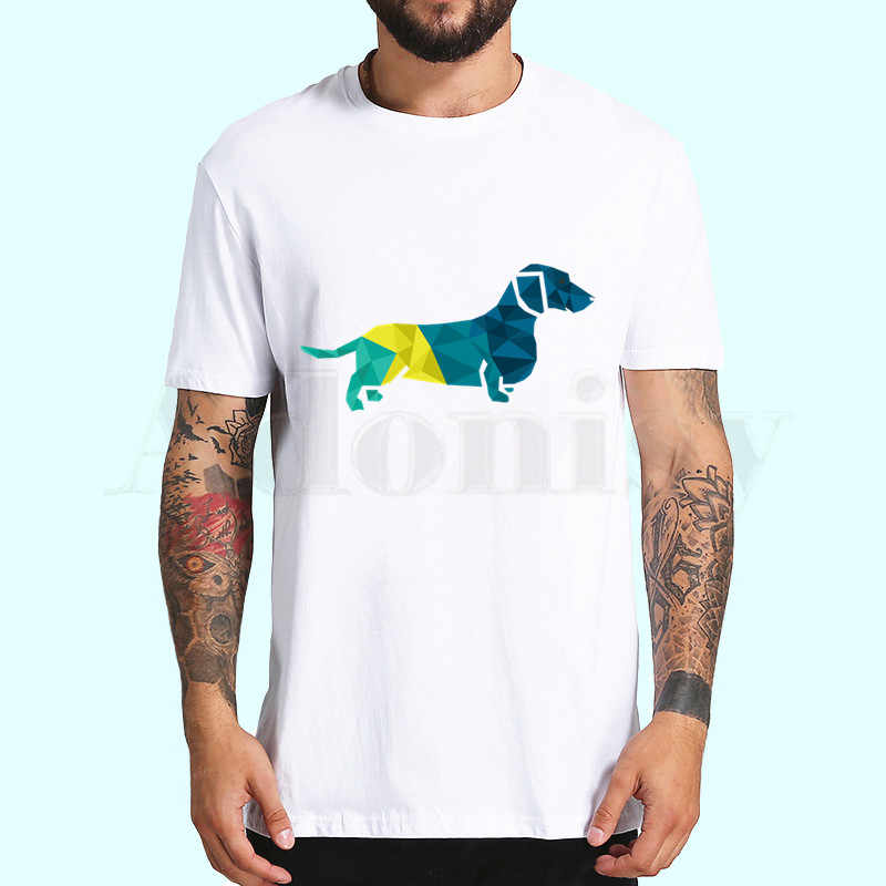 Dachshund Hot Sale Print Funny Graphic T Shirts Men/women Summer Harajuku Mens Streetwear Camisa Casual O Collar Custom Shirt