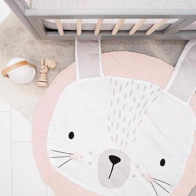 Hfc91ef93cb984e678bf804f1fbee2efdy Cartoon Animals Baby Play Mat Foldable Kids Crawling Blanket Pad Round Carpet Rug Toys Cotton Children Room Decor Photo Props