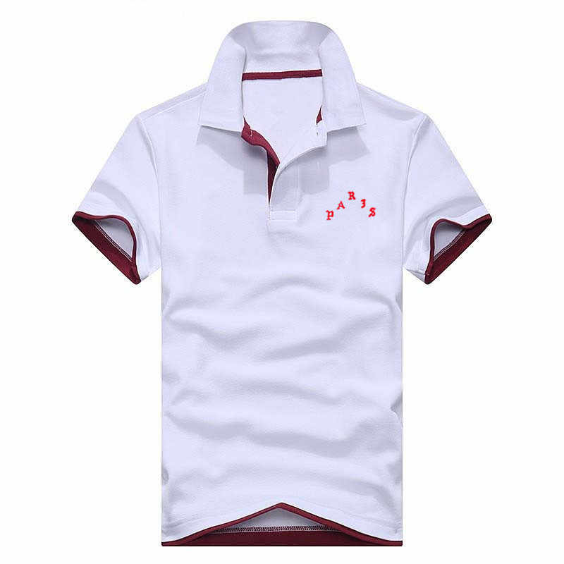 2018 Newest Europe Size Casual Polo Shirt Men Solid Polo Shirt Brands Baseball Uniform  Polo Shirts Breathable Short Sleeve Men