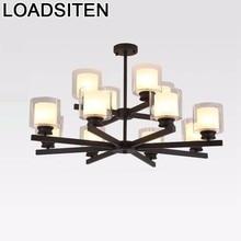 Hanglamp Pendant Light Home Deco Techo Loft Lampara Colgante Lustre E Pendente Para Sala De Jantar Lampen Modern Hanging Lamp стоимость