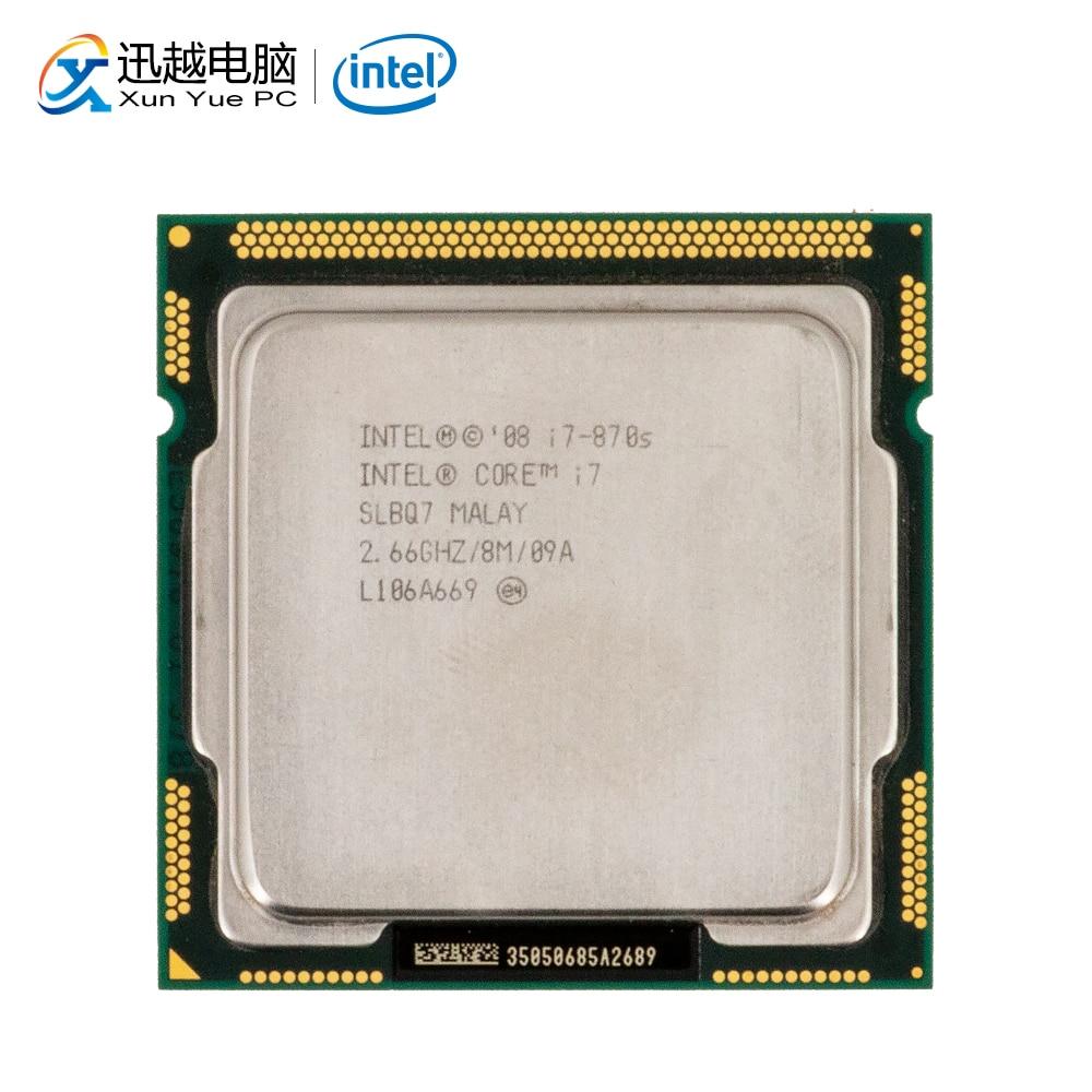 Intel Core I7 870S Desktop Processor I7-870S Quad-Core 2.66GHz 8MB L3 Cache LGA 1156 Used CPU