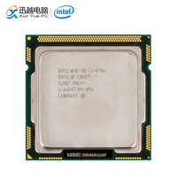 Intel Core i7 870S Desktop Processor i7 870S Quad Core 2.66GHz 8MB L3 Cache LGA 1156 Used CPU
