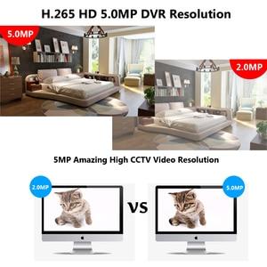 Image 4 - 4CH /8CH /16CH AHD Security CCTV DVR H.265 5MP/4MP AHD CVI TVI Analog IP Camera5 5MP 4.0MP Hybrid Video Recorder 4K Video Output