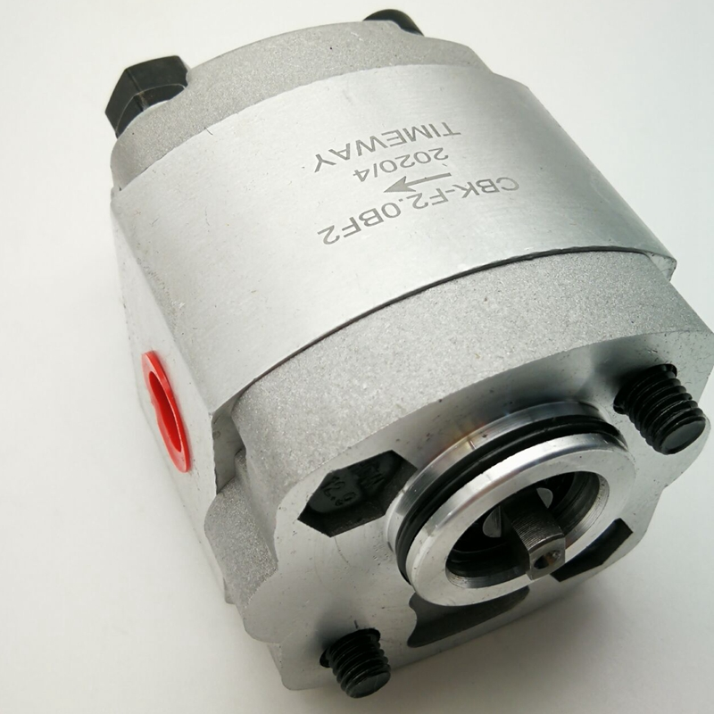 High Pressure Pump CBK-F1.6BF2 CBK-F1.8BF2  CBK-F2.0BF2 Hydraulic Pump With Valve 20Mpa Anticlockwise Rear In Side Out