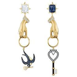 SWA nova série de luxo de alta qualidade Brincos de pingente para namorada Presente preferido