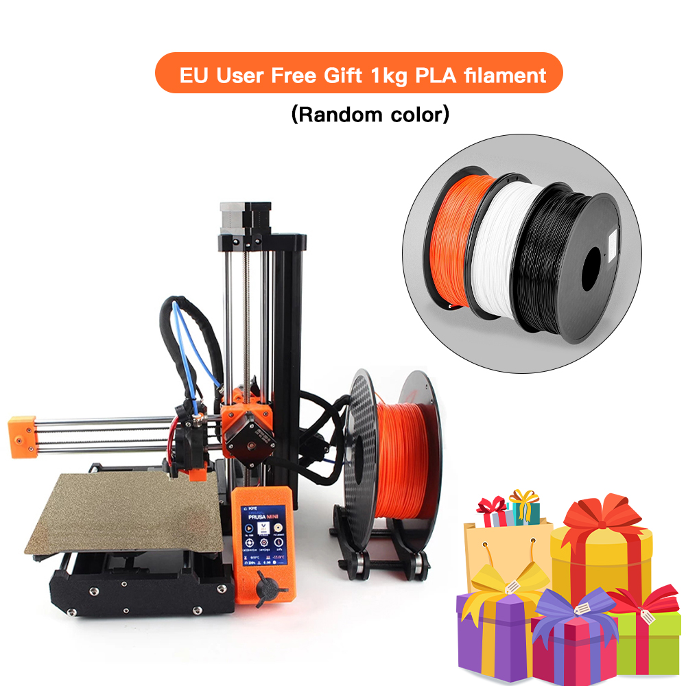 Clone Original Prusa Mini 3d printer DIY full kit and MW power PETG PLA Upgrade (Not assembly) Does not include printed parts 3D Printers  - AliExpress