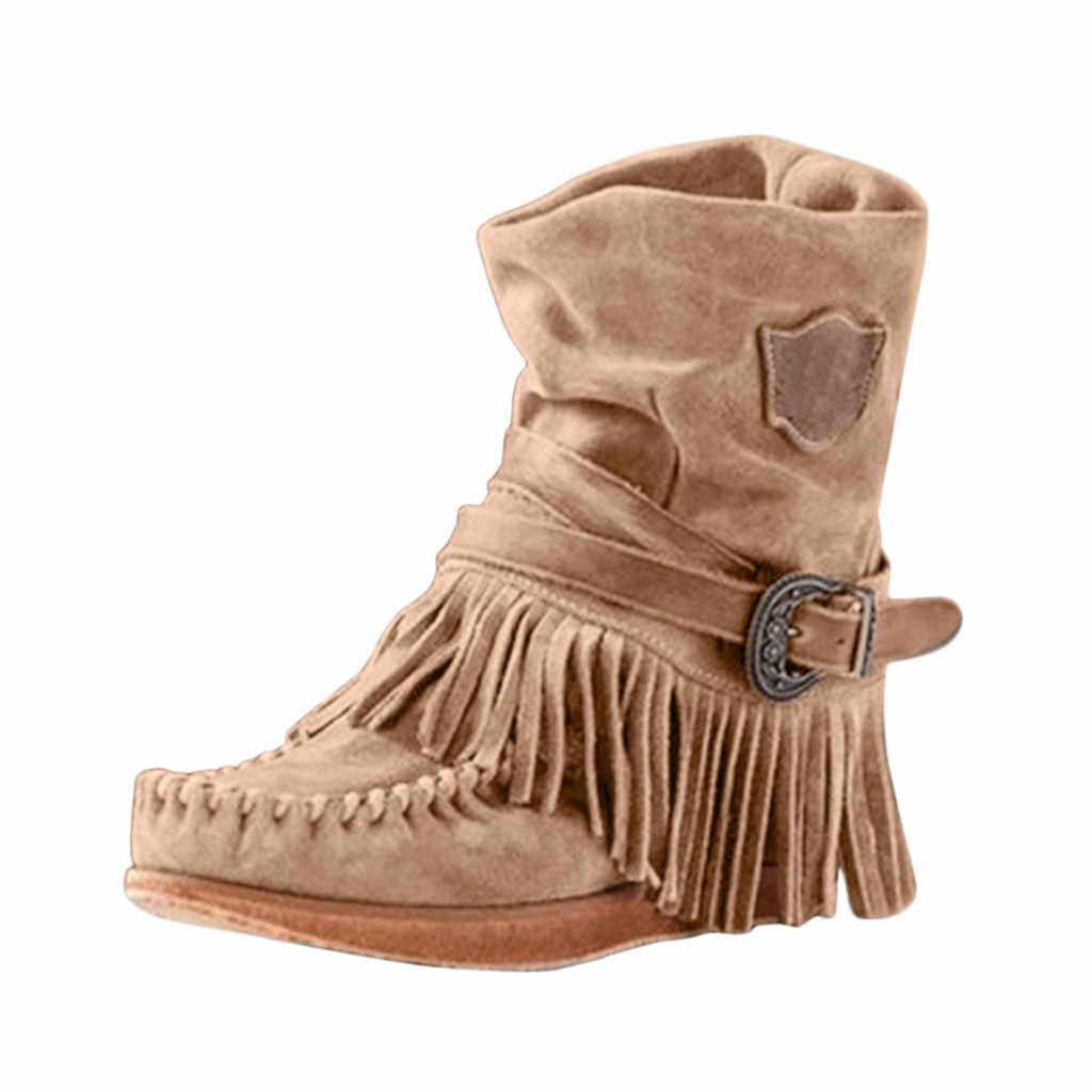 Stivali da Cowboy Per Le Donne Nappa Classico In Pelle Occidentale Cowgirl Stivali Bassi Scarpe Tacchi Alti Al Ginocchio Stivali Donna Inverno # L10
