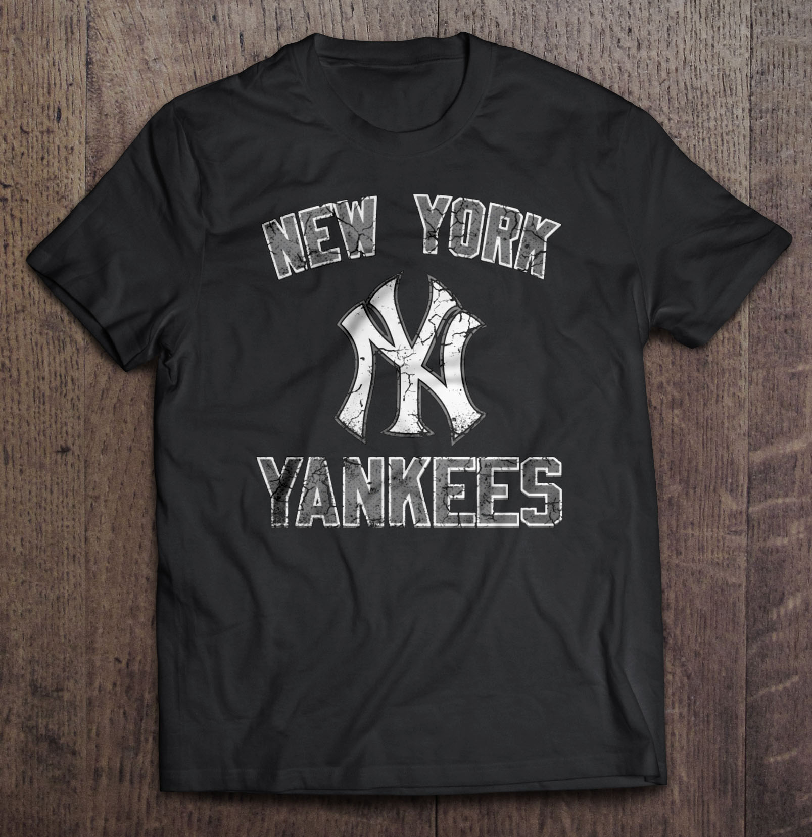 New Streetwear Harajuku York 100%Cotton Men'S Tshirt Yankees Tshirts
