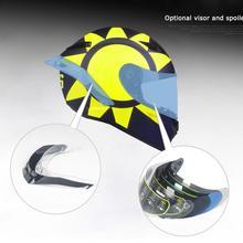 Accessories VISOR glasses and rear spoiler for SL-0700E Full Face Motorcycle Helmet