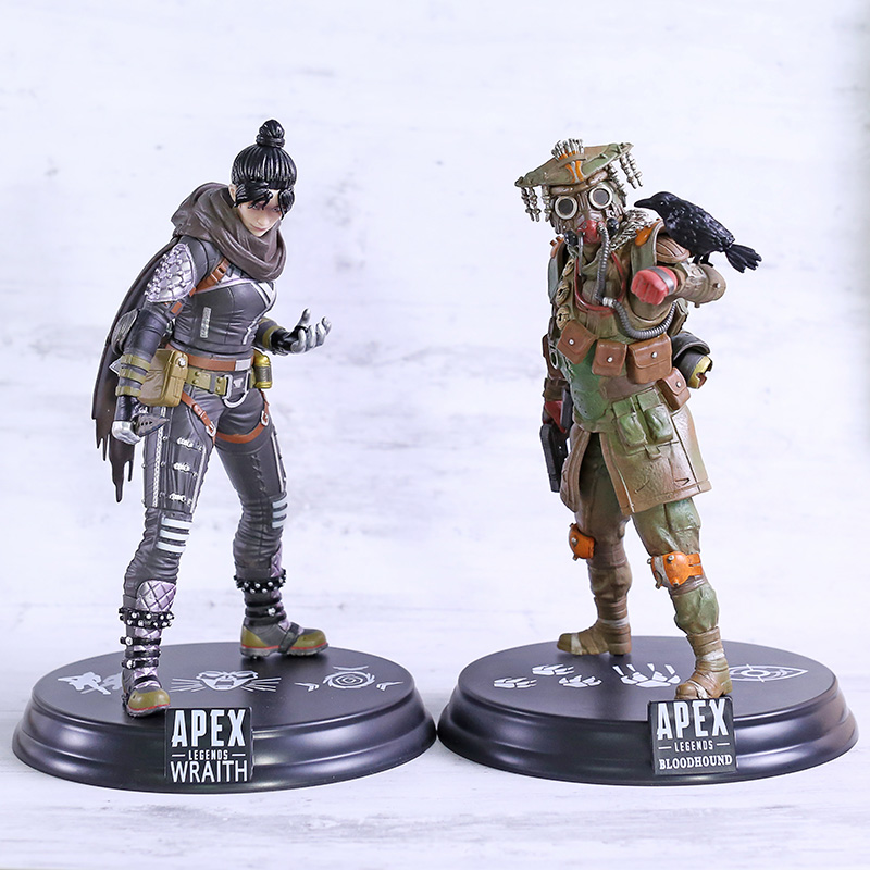 <font><b>Apex</b></font> legends Wraith / Bloodhound PVC Figure Collectible Model <font><b>Toy</b></font> Brinquedos Figurals image