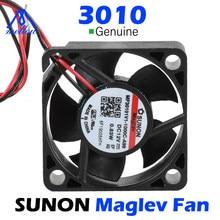 Mellow dc sunon 12v suspensão magnética rolamento 3010 ventilador 30*30*10mm 3010s ventilador de refrigeração v6 extrusora impressora 3d acessórios peças