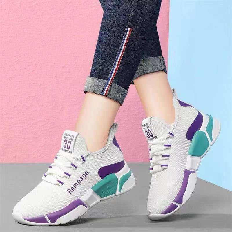 Basket Femme 2020 Women Vulcanize Shoes Breathable Air Mesh Light Sneakers Female Lace Up Platform Casual Shoes Tenis Feminino