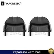 2~ 10 шт./лот Vaporesso Zero Pod Vape 2 мл картридж резервуар и 0.1ohm Ccell катушка подходит все в одном электронная сигарета Ренова нулевой комплект