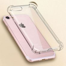 Transparent Drop-proof Case Anti-knock Clear Phone Case TPU Soft Silic