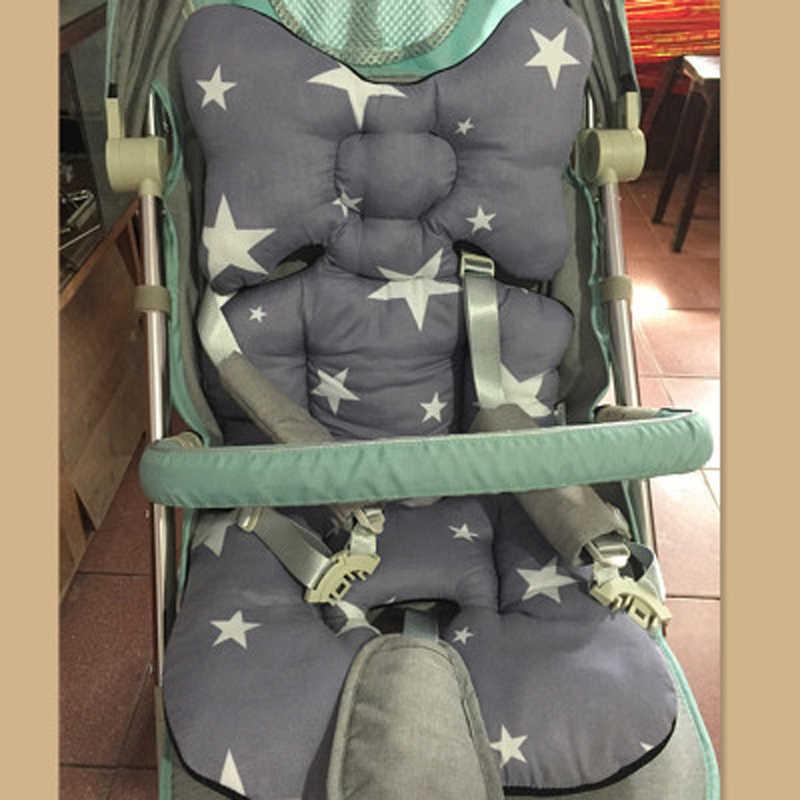 Baby Kinderwagen Sitz Pad Baumwolle Weiche Auto Sitzkissen Infant Warenkorb Matratze Matte Childs Wagen Kinderwagen Trolley Zubehör