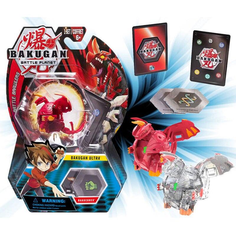 TAKARA TOMY New BAKUGAN  Bakugan Toupie Metal Fusion Met Monster Ball Gyro Action Figure Kid Toys Animation Derivatives Gift