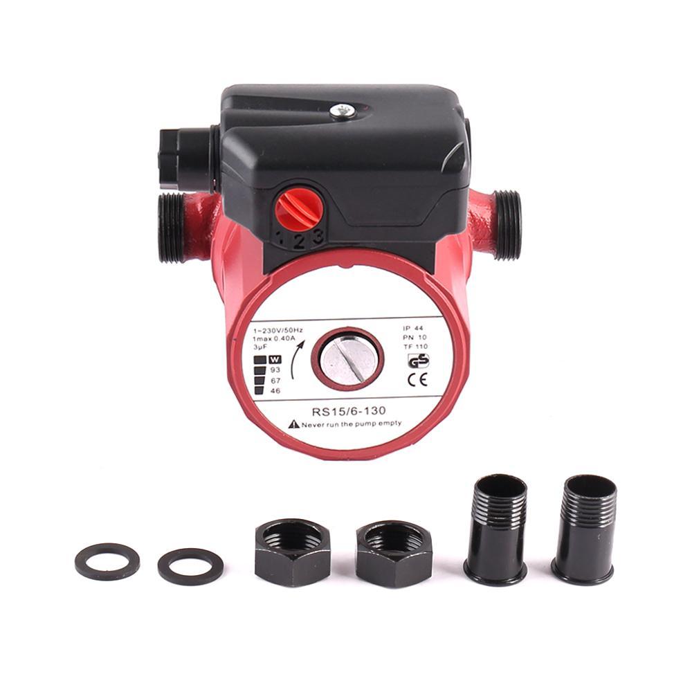 SHYLIYU RS15/6 3-Speed Hot Water Home Pressure Booster Pump 3/4