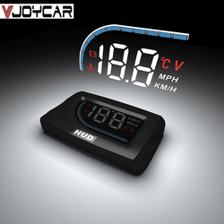 The Best HUD OBD Head Up Display Projection on Glass Car Speed Windshield Projector Gauge Shift Alarm RPM Coolant KM/H & MPH