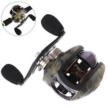 FDDL 12+1BB 8.1:1 8kg baitcasting Fishing reels Carretilha de pesca Abu garcia low profile reel bait casting Fishing reel