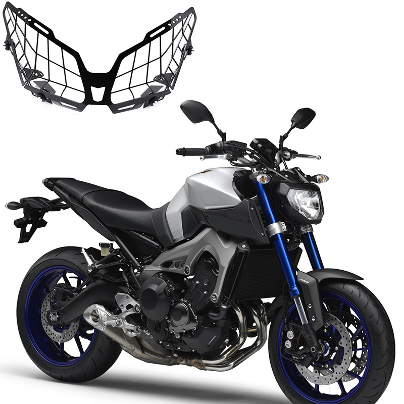 Grille Headlight Protector Guard Lens Cover For YA-MA-HA MT09 Tracer 900 FZ09 2016-2017