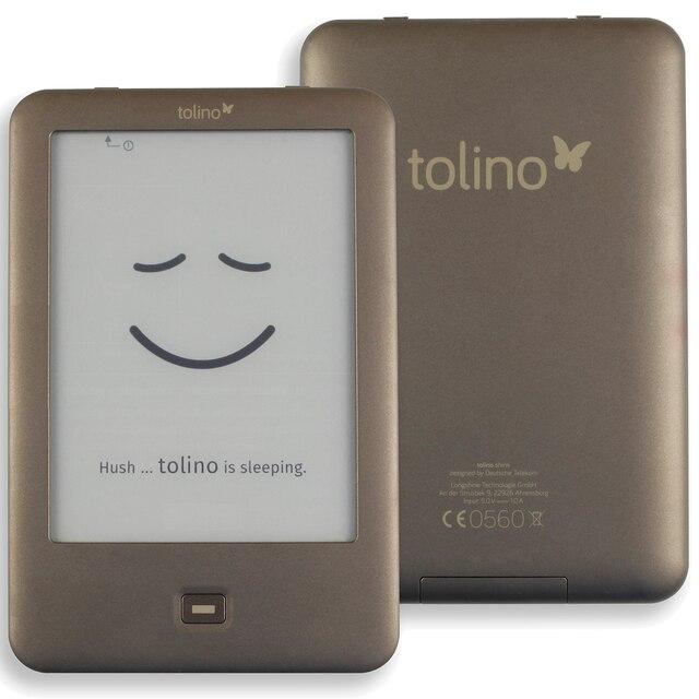 Встроенный светильник из устройства для чтения электронных книг, Wi Fi, для чтения электронных книг Tolino Shine e ink 6 дюймов Сенсорный экран 1024x758 электронные чтения электронных книг