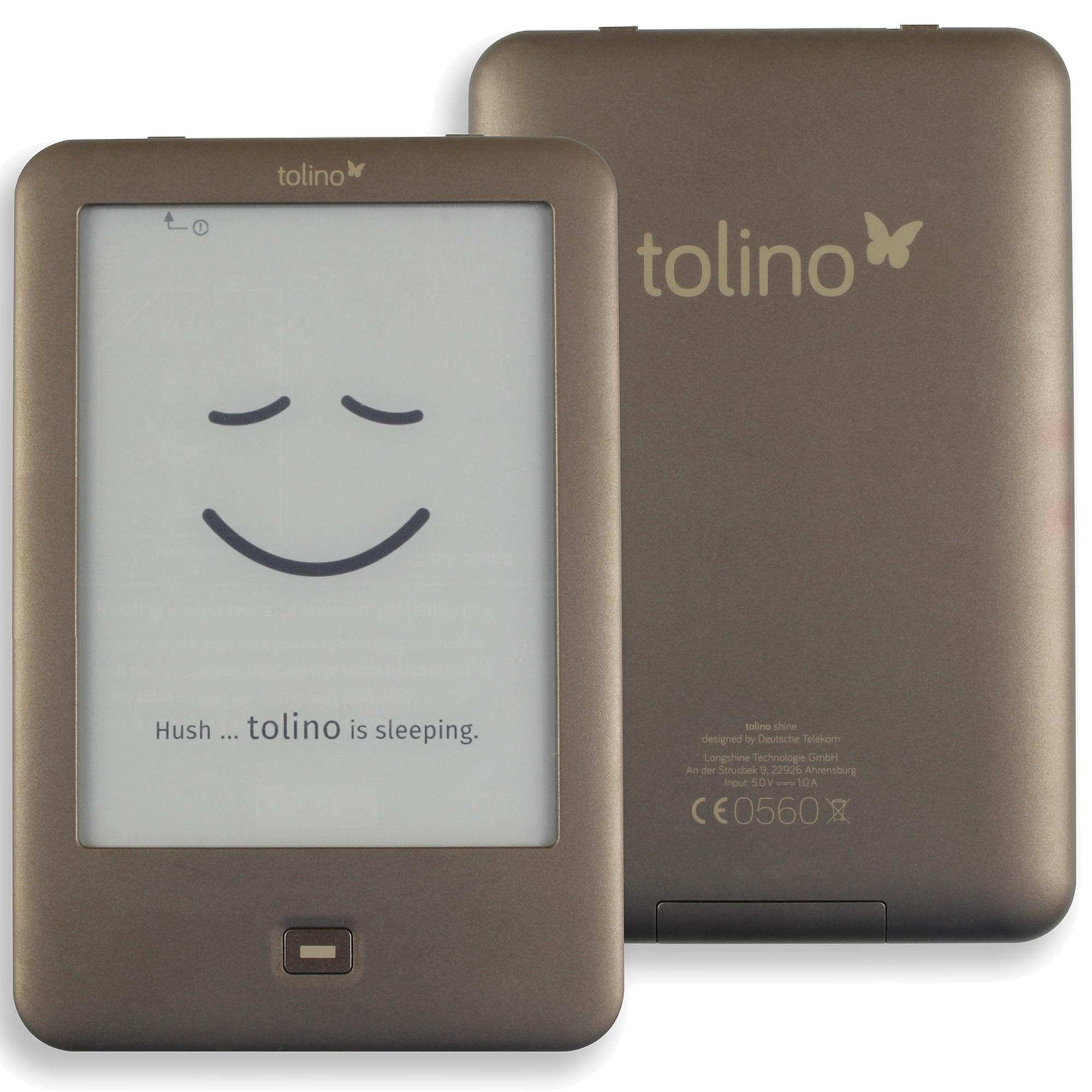 Built in Light e Book Reader WiFi ebook Tolino Shine e ink 6 inch  Touch Screen 1024x758 electronic Book ReadereBook Reader   -