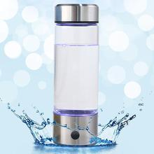 420 мл портативный электролиз генератор водорода фильтр для воды бутылка стекло