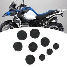 Per BMW R1200GS ADV R1200 GS R 1200GS LC Adventure 2014-2019 moto 9 pezzi telaio coperchio fori tappi tappo Set telaio decorativo
