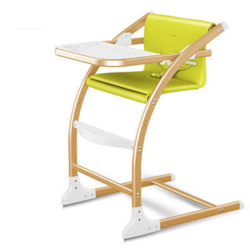 Baby Dining Chair Adjustable File Multi-Function Portable Children's Dining Chair Stainless Steel Bracket A Variety Of Colors
