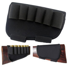 16 x10cm hunting Cartridge Belt Airsoft Tactical 6 Shots 12 20 Gauge Molle Magazine Mag Pouch Cartridges Holder(China)
