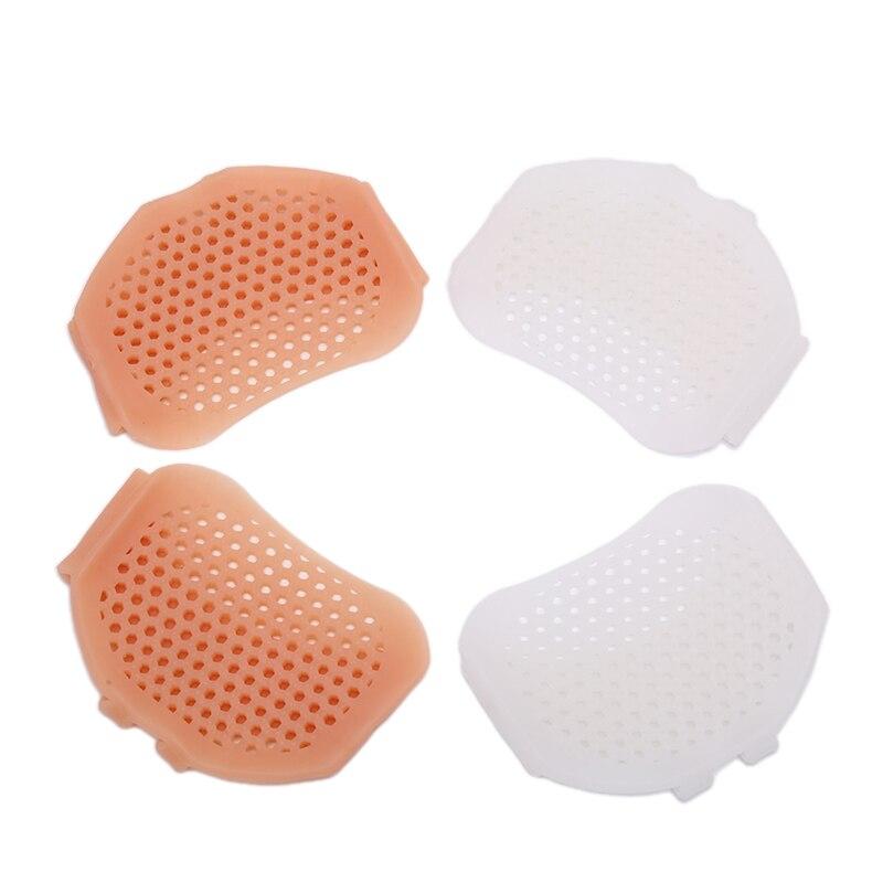 1Pair Feet Sleeve Pads Gel Toe Separator Splint Feet Pain Relief Forefeet Sleeve Cushions Pads