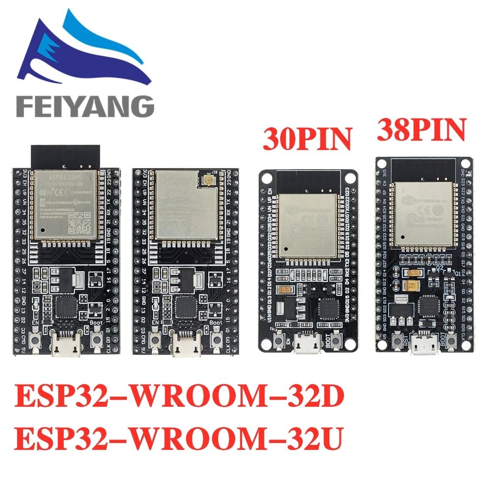 ESP-32S ESP-WROOM-32 esp32 ESP-32 bluetooth e wifi cpu de núcleo duplo com baixo consumo de energia mcu ESP-32