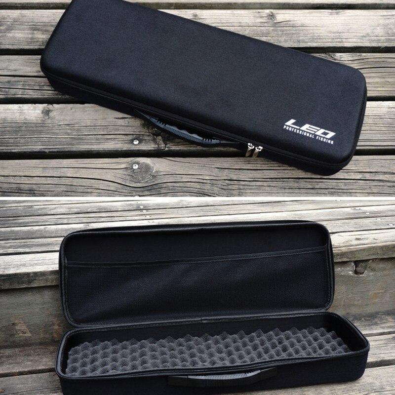 Accessoires de pêche boîte à matériel EVA coquille dure doublure souple pôle stockage paquet grande capacité multi usages Portable outils sac - 3