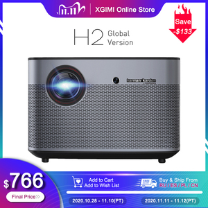 Image 1 - XGIMI H2 DLP Projector 1080P Full HD 1350Ansi Lumens 4K Projecteur 3D Support Android Wifi Bluetooth Home Theater Global Version