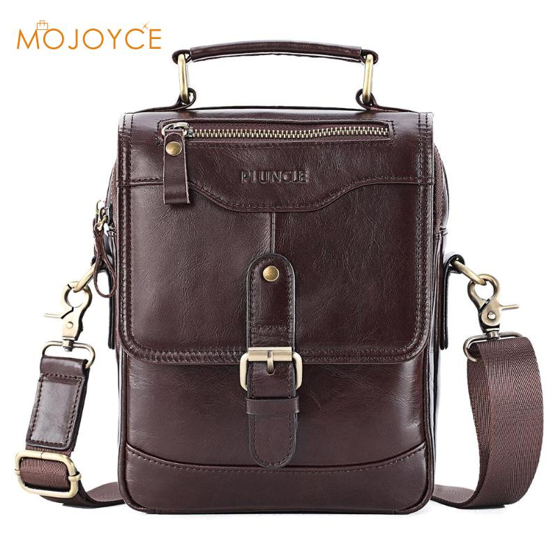 Genuine Leather Male's Crossbody Bag Casual Business Leather Men's Messenger Bag Cowhide Handbags Casual Pouch Dropshipping