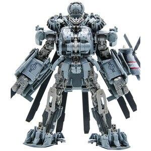 Image 3 - 25 centimetri Transformers Blackout Grimlock SS07 SS08 Collection Action Figure ABS Trasformazione Car Robor Giocattolo Regali Di Natale Per I Bambini