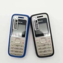 Nokia 1200 разблокированный gsm 900/1800 мобильный телефон с русским иврит польский язык Восстановленный