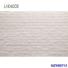 Laeacco – arrière-plan mural en vinyle gris brique, décor de fête, mariage, anniversaire, Portrait de bébé, arrière-plan pour séance Photo, Studio Photo