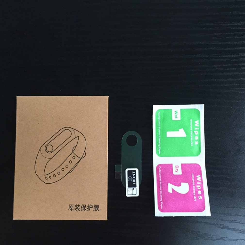 Folia zabezpieczająca ekran do xiao Mi Mi Band 3 inteligentna osłona bransoletka pełna niehartowana bransoletka folie ochronne