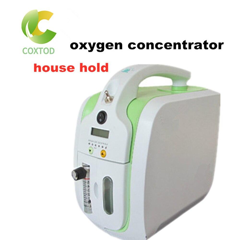 COXTOD Portable Mini Oxygen Concentrator Generator 5L Oxygen Making Machine Oxygenation Machine Oxygen Generating Machine 1pc