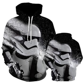 Star Wars Hoodies Print Hoodies 3D Cool Design Men Sweatshirts Casual Male Tracksuits Fashion Star Wars Hood Tops,Star Wars hoo фото