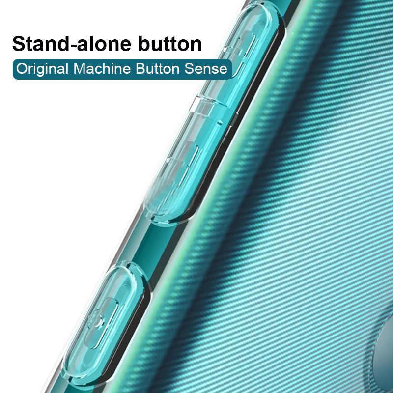 Tahan Guncangan Ponsel Case untuk Huawei P Smart 2019 Nova 3 3E 2i P30 P20 Lite Lembut TPU Silicone Cover P20 p10 Mate 10 20 P30 Pro Case