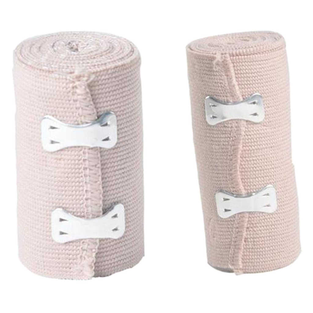 2 Pcs Elastic Bandage Wrap Compression Tape 7 5cm 10cm Self