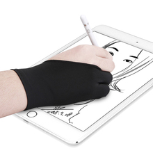 Anti-Touch-Glove Drawing-Tablet Two-Finger Artist for Right And Left Screen-Board